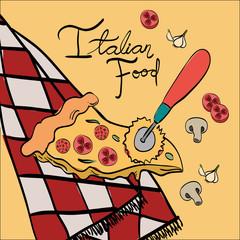 delicious italian food menu