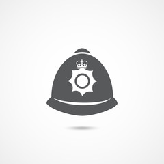 London police hat icon