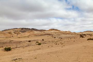 Moon Landscape, an area of the Namib Desert on the Namibian Skeleton coast that looks like the moon.