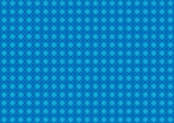 Geometric shapes pattern blue background