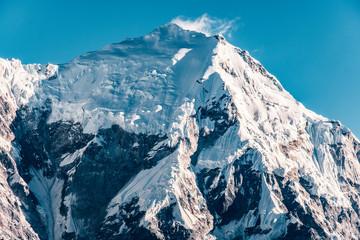 Nepal Langtang mountain massif