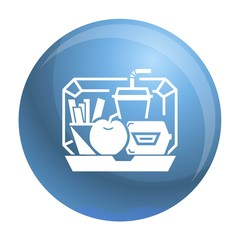 Mix lunchbox icon. Simple illustration of mix lunchbox vector icon for web design isolated on white background