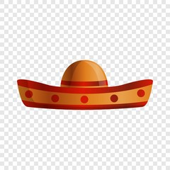 Mexican sombrero icon. Cartoon of mexican sombrero vector icon for web design