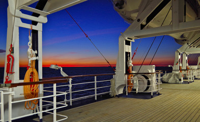 Blue Hour at Sea