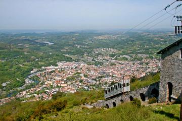 Pic du Jer Funicular, Lourdes, France.