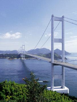 瀬戸内しまなみ海道 来島海峡大橋 愛媛県 日本