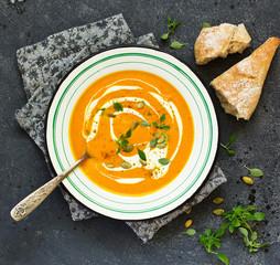 Curry Pumpkin Soup......