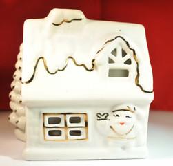 Santa's House Ornament