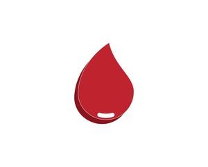Blood icon health logo
