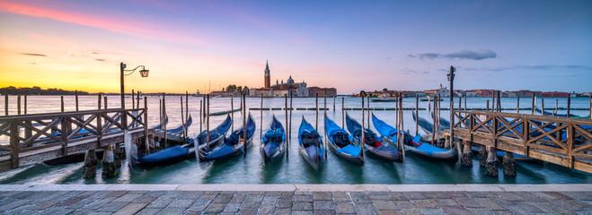 Venedig Panorama im Winter