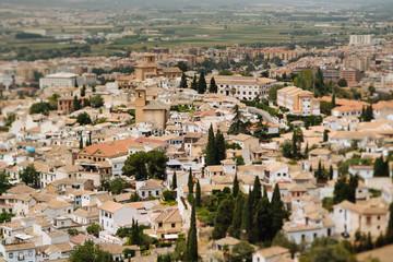 Spain, Granada, cityscape