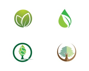 Tree symbol illustration