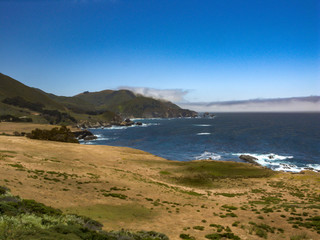 beach and coast of the Pacific Ocean