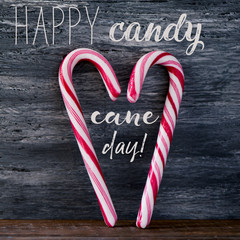 candy canes and text happy candy cane day