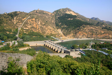 China ancient Great Wall building landscape