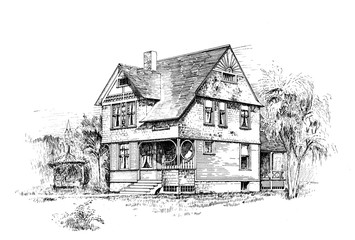 Old house.