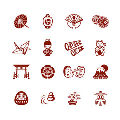 Japanese icons | MICRO series
