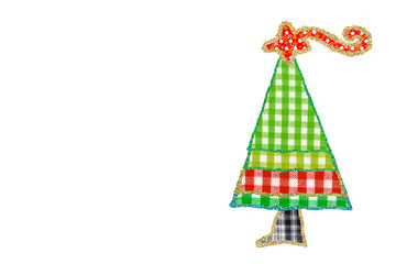 Funny children's Christmas tree cards