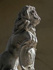 Lion Statue Garden Decoration Object