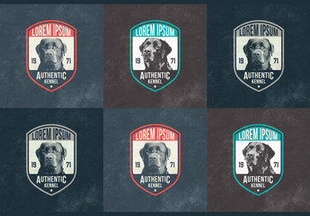 Dog Badge Layouts