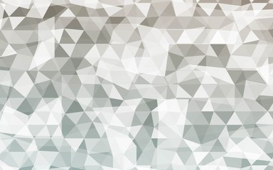 Geometric rumpled triangular low poly gradient illustration. Vector polygonal design.