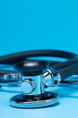 Stethoscope, close-up isolated