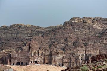 Die Königsgräber in Petra