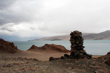 Fotobehang Algerije The Tolbo lake area in Mongolia