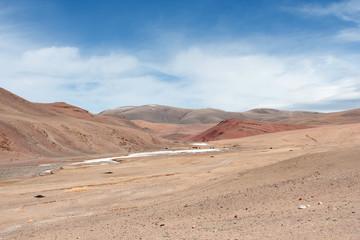 The Tolbo lake area in Mongolia