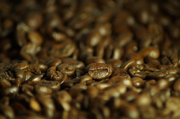 Fotobehang Cafe Coffee beans background