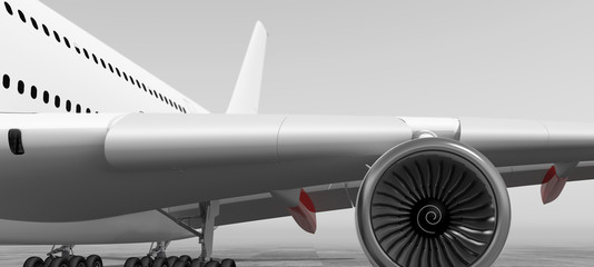 passagierflugzeug ansicht 1