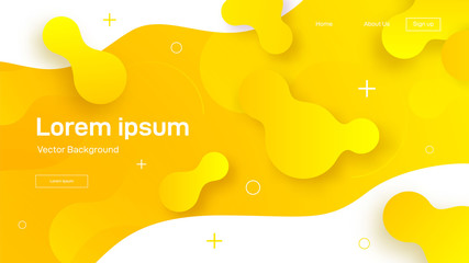 Liquid dynamic background