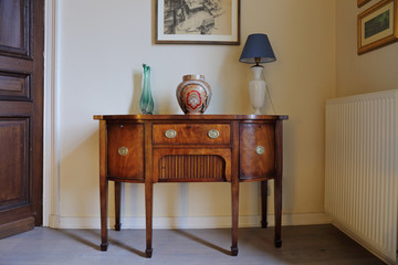 meuble commode demi-lune