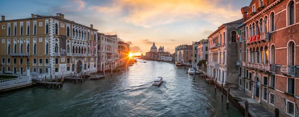 Venedig Panorama mit Blick über den Canal Grande, Italien