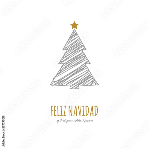 Christmas Wishes In Spanish.Feliz Navidad Y Prospero Ano Nuevo Spanish Christmas