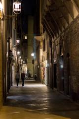 Fotobehang Smal steegje Firenze