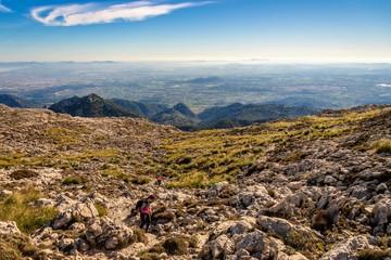 Puig Major Mountain, Mallorca, Spain