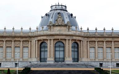 Belgium's Africa Museum is seen before its reopening to the public on December 9, 2018, in Tervuren