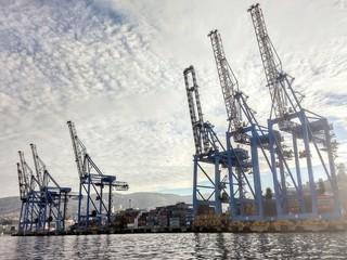 Port of the city of Valparaiso