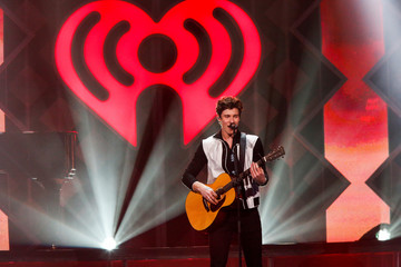 Mendes performs during Z100's iHeartRadio Jingle Ball 2018 concert at Madison Square Garden in New York City