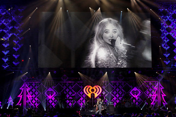 Carpenter performs during Z100's iHeartRadio Jingle Ball 2018 concert at Madison Square Garden in New York City