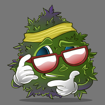 cool monster weed buds