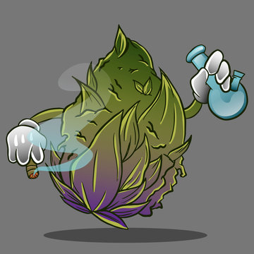 smoke weed with cannabis monster