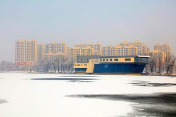 Winter scenery of northern China