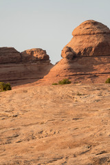 landscape on arches national park in the united states of america