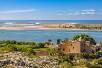 Laguna Oualidia near Safi, Morocco
