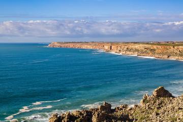 Cape Beddouza on the Atlantic coast, Morocco