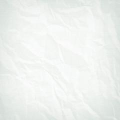 Texture of crumpled white paper, blank, white vintage background, retro, rough, blue, design