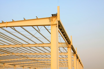 steel structure landscape