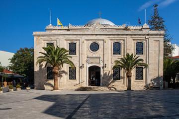 The church of Agios Titos in Heraklion Town, Crete.